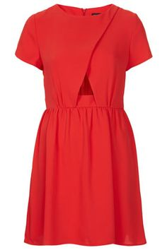 Wrap Front Flippy Dress - Going Out Dresses - Dresses  - Clothing