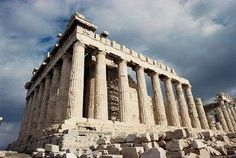 "Aropolis- Athens, Greece. The Greeks build  this democracy after the dark ages. Means ""we the people"""