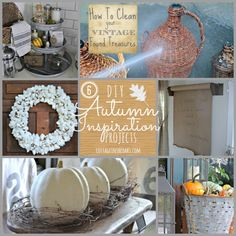 DIY Autumn Inspiration Projects