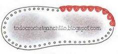 Resultado de imagen de como hacer suelas de zapato sra de esparto Crochet Sandals, Booties Crochet, Crochet Art, Crochet Slippers, Crochet Patterns, Crochet Flip Flops, Decorating Flip Flops, Shoe Pattern, How To Make Shoes