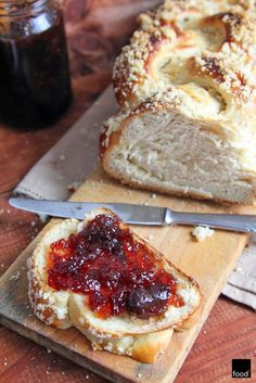 Bread Recipes, Cake Recipes, Cooking Recipes, Easter Dishes, Polish Recipes, Challah, Sweet Desserts, Bread Baking, Banana Bread