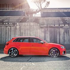 The all-new 367PS Audi RS 3 Sportback.