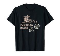 Hermosa Beach Surf Crew distressed vintage surfer t-shirt Hermosa Beach, Surf Art, Cool T Shirts, Surfing, Mens Tops, Clothes, Vintage, Amazon, Outfits