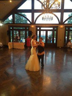 Bride & Little brother dance