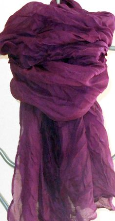 Your place to buy and sell all things handmade - Ladys Marron Scarf Sale, Orange Scarf, Purple Scarves, Cashmere Shawl, Wedding Shawl, Summer Scarves, Cotton Scarf, Boho, How To Wear