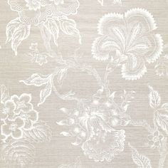 Schumacher - Hothouse Flowers Sisal