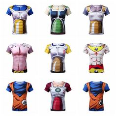 Goku 3D t shirt DBZ t shirts Women Men Casual tees Anime Dragon Ball Z Super Saiyan t shirts Harajuku tee shirts Cosplay Halloween