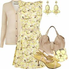 Love the yellow AND THE SHOES!!!