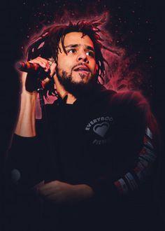J Cole by wpap me J Cole Born Sinner, J Cole Art, J Cole Quotes, Rapper Art, Dope Wallpapers, Hip Hop Art, American Rappers, Rap Music, Star Wars Art