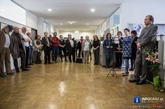 """Ausstellungseröffnung in Graz am Grazer Nikolaiplatz: """"Alphabet in Bildern"""". Das Europäische Fremdsprachenzentrum in Österreich als lokaler Partner des European Centre of Modern Languages of the Council of Europe / Centre européen des langues vivantes du Conseil de l'Europe stellt den baulichen Rahmen für das Künstlerinnen ABC in Graz, das in einer Gemeinschaftsausstellung farblich aussagekräftige und ansprechende Werke präsentiert  """"#Künstlerinnen #ABC"""" #Fotos #Ausstellungseröffnung #Graz…"""