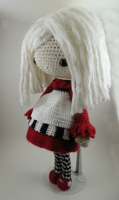 Elvira Amigurumi Doll Crochet Pattern PDF by CarmenRent on Etsy