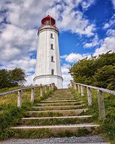 Treppe zum Leuchtturm - Insel Hiddensee.