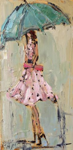 Lady in Polka Dots by Kathryn Trotter