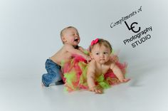 my twins 1st year pictures