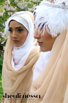 Soft Smokey eye Makeup and Hijab