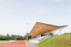Stadium Architecture, Residential Architecture, Architecture Details, Saint Maximin, Horse Arena, Outdoor Pavilion, Apartment Decorating On A Budget, Fontainebleau, Philippe