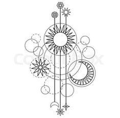 38 new Ideas tattoo geometric star coloring pages Moon Star Tattoo, Star Tattoos, New Tattoos, Tatoos, Star Coloring Pages, Pattern Coloring Pages, Coloring Books, Modern Tattoos, Trendy Tattoos