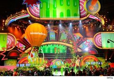 The Nick Kids Choice Awards set from 2011