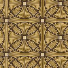 Art Deco Behang Carraway. Verkrijgbaar bij artdecowebwinkel.com. - Art Deco Wallpaper Carraway. Available at artdecowebstore.com.