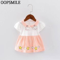 Cheap baby dress, Buy Quality summer baby girl dress directly from China baby girl dress Suppliers: Summer Baby Girl Dress Cartoon Cat Chiffon  Baby Girl Princess Dress Kid Birthday Party Clothing Baby Dress roupas de bebe