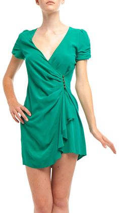 80s Wrap Dress#Repin By:Pinterest++ for iPad#