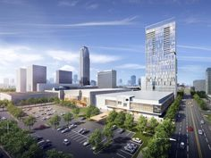Rendering Of New Galleria Hotel And Apartment High Rise Move On Up Houston Real Estate