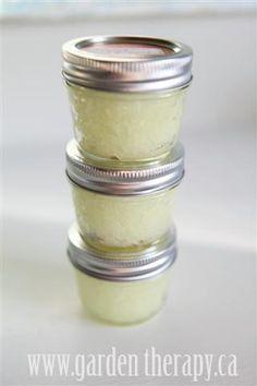 lemongrass ginger moisurizing sugar scrub
