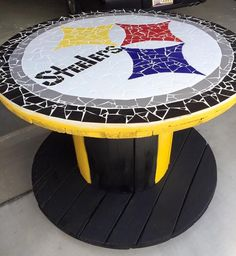 Jaws I Rollin Pittsburgh Steelers Helmet, Pitsburgh Steelers, Here We Go Steelers, Steelers Apparel, Steelers Gifts, Steelers Stuff, Spool Tables, Steel Curtain, Steeler Nation