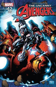 Uncanny Avengers (2015) #12 #Marvel @marvel @marvelofficial #UncannyAvengers (Cover Artist: Ryan Stegman) Release Date: 8/17/2016