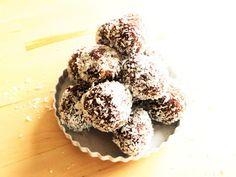Geschwister Keks: Schoko-Nuss-Rumkugeln .... ein Traum im Kokosmantel