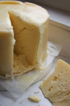 how to make cheese almost fat free - great idea!