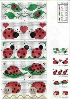 Brilliant Cross Stitch Embroidery Tips Ideas. Mesmerizing Cross Stitch Embroidery Tips Ideas. Cross Stitch Bookmarks, Crochet Bookmarks, Cross Stitch Cards, Cross Stitch Alphabet, Cross Stitching, Cross Stitch Embroidery, Cross Stitch For Kids, Cross Stitch Baby, Cross Stitch Animals