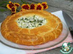Пирог с курицей на сливках - кулинарный рецепт