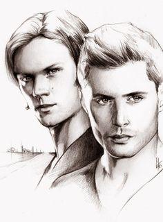 Sam and Dean by kleinmeli.deviantart.com