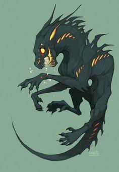 4 dark creature design