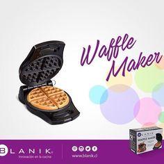 Prepara exquisitos Waffles para el desayuno con la maquina Waffle Maker de #Blanik y acompañalo con lo que más te gusta.  http://ow.ly/Xyq6Z