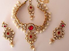 kundan jewellery sets - Google Search