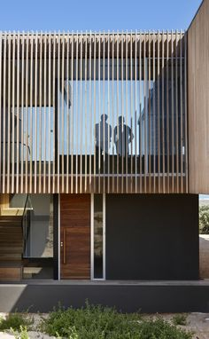 """These Louvers, be they horizontal or vertical, should allow for the streamlined room to be seen or """"hidden"""" from the road in on Scrub Island"""