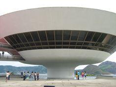 Museu de Niterói/RJ. Obra de Oscar Niemeyer.