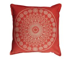 Pony Rider — MOROCCAN CUSHION COVER - RED
