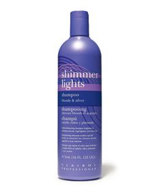 Clairol Shimmer Lights Shampoo $8.50 Sally Beauty The Best Beauty Products of All Time