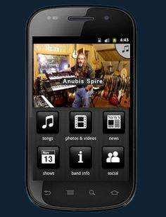 FREE Anubis Spire Mobile App Anubis, Video New, News Songs, Rock Music, Mobile App, Photo And Video, Band, Free, Sash