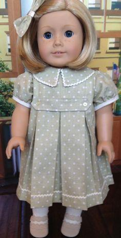 School dress for Kit, by Lynn Egigian