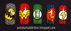 Polish Art Addiction: Superheroes