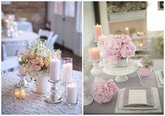 Pastelowe stoły weselne