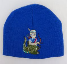 MALABAGOO - COURAGEOUS DAVE - Embroidered Cobalt Blue Knit Cap, $22.00 (https://store-ah1eo2nl.mybigcommerce.com/courageous-dave-embroidered-cobalt-blue-knit-cap/)