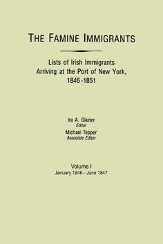 The Famine Immigrants list. Students can search and find any Irish ancestors they may have.