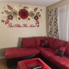 91 個讚,3 則留言 - Instagram 上的 Paper Flowers By Val 🌷(@partygraphicstudio):「 Color Crush 😍🌹 RED🔥 My client loved it. If you want yours send me a DM ↗️ . .  Enamorada de este… 」