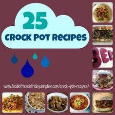 25 Crock Pot Recipes by mattie