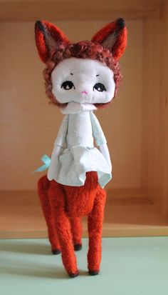 Brunehilde métamorphosis OOAK doll by ConfitureDePoeme on Etsy